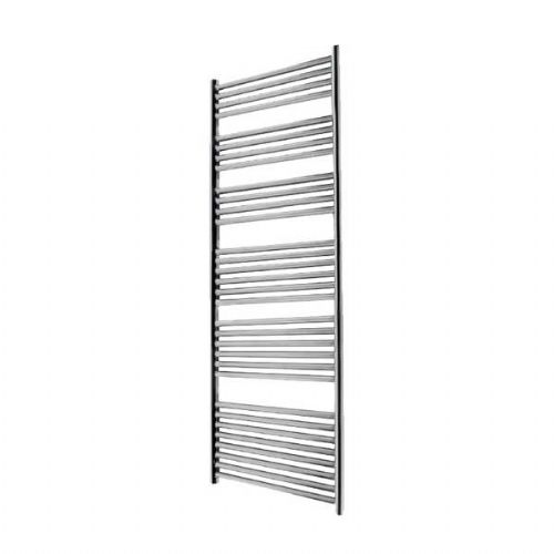 Abacus Elegance Linea Straight Towel Rail - 1700mm x 480mm - Polished Stainless Steel